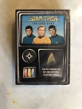 1996 Fleer Star Trek: The Card Game Rule Book & 65 Collectible Playing Cards