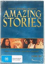 Steven Spielberg Presents Amazing Stories: Season 2 - 4 DISC SET NEW AND SEALED