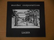 MURDER CORPORATION lager LP NEW mauthausen orchestra maurizio bianchi mb con-dom