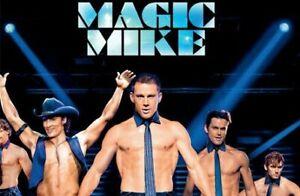 MAGIC MIKE DVD Channing Tatum Hot STRIPPER MOVIE - SAME / NEXT DAY FAST POST
