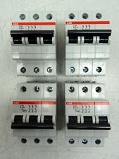 Lot of 4 ABB System Pro M Compact S203-K3 Mini Circuit Breakers 2CDS253001R0317