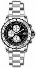Invicta Specialty 6000 Men's Round Black Analog Chronograph Date Stainless Watch