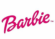 Barbie Logo Iron On T-Shirt Transfer A5