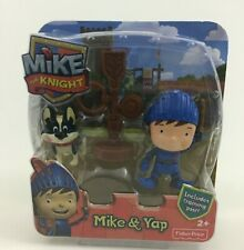 Mike The Knight and Yap Dog Puppy Toy Figures Fisher Price New Sealed