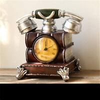 Creative Phone Model Desk Clock Bed Room Clock Bedside Cabinet Ornament Clock