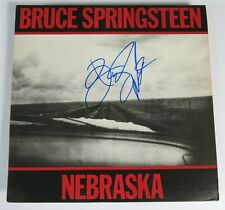 "BRUCE SPRINGSTEEN Signed Autograph ""Nebraska"" Album Vinyl Record LP"