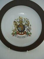 Hornsea Pottery Queen Elizabeth Silver Jubilee Decorative Plate 16 cm British