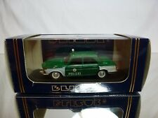 ELIGOR 1339 BMW 2000 - E120 - POLIZEI POLICE 1967 - GREEN 1:43 - GOOD IN BOX