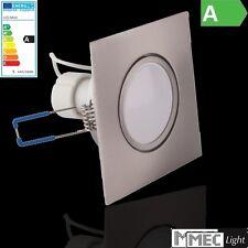 GU10 RÉFLECTEUR LED 5W - 395lm + cadre d'encastrement -carré- Taille = 62mm