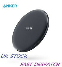 ANKER Wireless Charger, 10W Qi-Certified Charging Pad, Compatible XS Galaxy Note