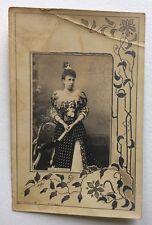 CPA. Reine d'Espagne. Marie Christine d'Autriche. Épouse d' Alphonse XIII.