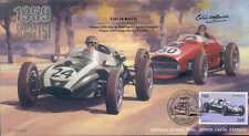 1959b COOPER-CLIMAX T-51 & FERRARI D246, MONTE CARLO F1 cover signed COLIN DAVIS