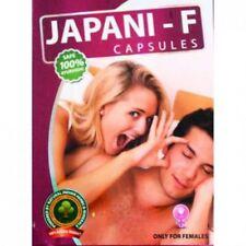 Japani-F Female Sex Enhancement Capsules Libido Orgasm Sensation for Women Pills