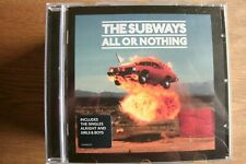 The Subways - All Or Nothing (CD) . FREE UK P+P ................................