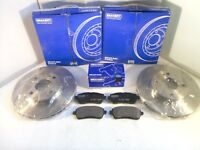 Ford Fiesta Mk7 Front Brake Discs and Pads Set 2008-On*GENUINE BRAKEFIT*
