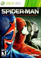 Spider-Man: Shattered Dimensions - Microsoft Xbox 360 X360 Game