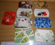 Kissenverpackung Geschenkbox Geschenkschachtel 9 Stück