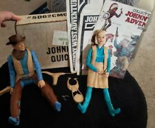 Vintage Marx Johnny West Action Figures 2 Figurines & Accessories