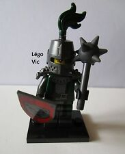 Légo 71011 Minifig Figurine Série 15 Chevalier Frightening Knight + socle