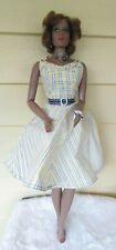 """James and meisner 19 1/2"""" African American  fashion doll in CED dress/w jewerly"""