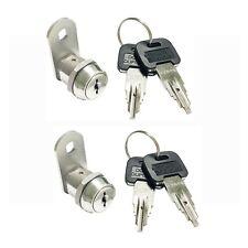 2 Sets Stainless Steel Top Security Cam Lock 58 Waterproof Weather Outdoor1481