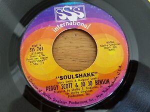 PEGGY SCOTT & JO JO BENSON - Soulshake / We Were Made For Each Other 1969 SOUL