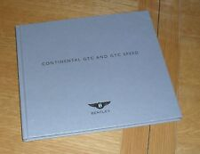 Bentley Continental GTC & GTC Speed Hardback Brochure Set 2009-2010 UK Market
