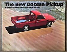 1973 Datsun Pickup original American sales brochure