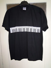 RARE / T- SHIRT : CLAVIER PIANO SYNTHE / TAILLE SIZE M - 100 % COTON QUALITE