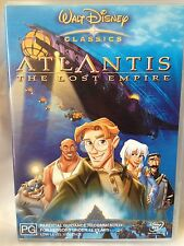 WALT DISNEY ~ ATLANTIS - THE LOST EMPIRE ~ DVD  ~ **FREE POST