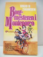 Book, Borg-mesteren i Monteporco by Knud H. Thomson