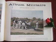 L' ALBUM MILITAIRE ...1890