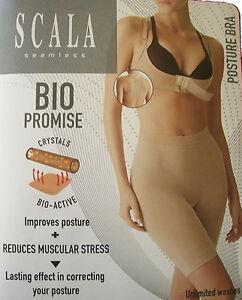 Scala Correcting Posture Bra Corrector Full Support Back Support