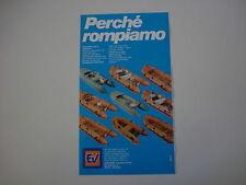 advertising Pubblicità 1983 GOMMONI EV EUROVINIL