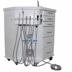 Greeloy Dental Portable Unit Mobile Delivery System GU-P211 Air Compressor 4H