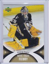 Marc-Andre Fleury 2006 Upper Deck Mini Jersey Collection Card 81 Grade MT