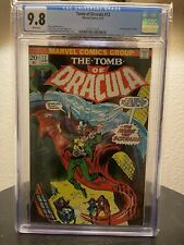 Tomb of Dracula 12 2nd Appearance Of Blade Vibrant Colors  Bone White CGC 9.8 ⚔️