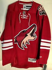Reebok Premier NHL Jersey Arizona Coyotes Team Burgundy PHX sz L