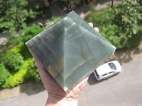 2160g(4.76lb) NATURAL GREEN AVENTURINE JADE CRYSTAL Pyramid POINT Healing  P871