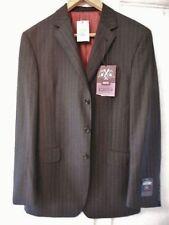 Woolen Long Regular Size Pinstripe Suits & Tailoring for Men