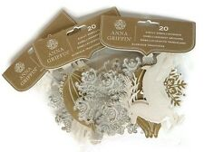 60 Pc. Anna Griffin® GLITTER CHRISTMAS DIE CUTS | Gold & Silver | $15.00 Value