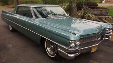 1963 Cadillac DeVille coupe deville