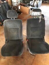 96-00 Honda Civic OEM front seats  dark gray 2 DR VERY NICE CONDITION JDM