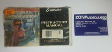 Manual Lethal Enforcers, Sega Mega Drive, PAL-EUR, Castellano