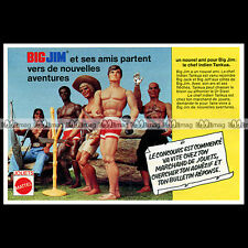 Mattel BIG JIM JACK JEFF TANKUA... 1976 Pub Publicité Action Figure Ad #B172