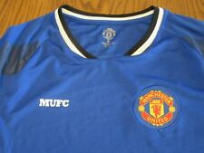 MANCHESTER UNITED BRAND RED DEVILS FC FOOTBALL CLUB JERSEY TRAINING SHIRT-MD NWT
