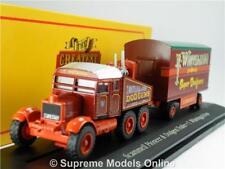 Scammell Pioneer Model Truck 1 76 Whitelegg Oxford Greatest Show Fair 4654107 K8