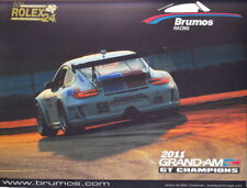 2012 Brumos Racing Porsche 911 GT3 Rolex 24 Grand Am postcard