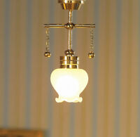 1/12 Scale Dolls House Emporium Hanging Ceiling Light with Shaped Shade 12V 7200