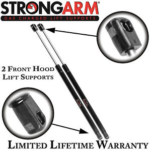 Qty 2 Strong Arm 4993 Fits Cadillac Deville 00-05 Front Hood Lift Supports